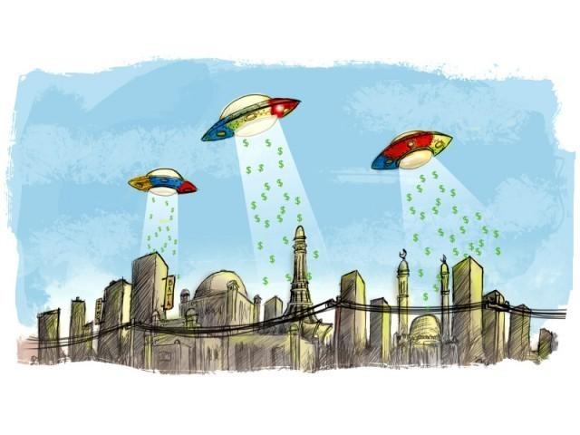 گوگل حکام کے مطابق پاکستان میں  انٹرنیٹ  صارفین  میں اضافےکی وجہ سے یہ گوگل کے لیے ابھرتی ہوئی مارکیٹ ہے, ایلسٹریشن ، جمال خورشید