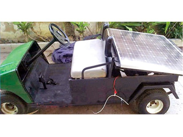 Sir Syed University Students made solar car | Siasat pk Forums