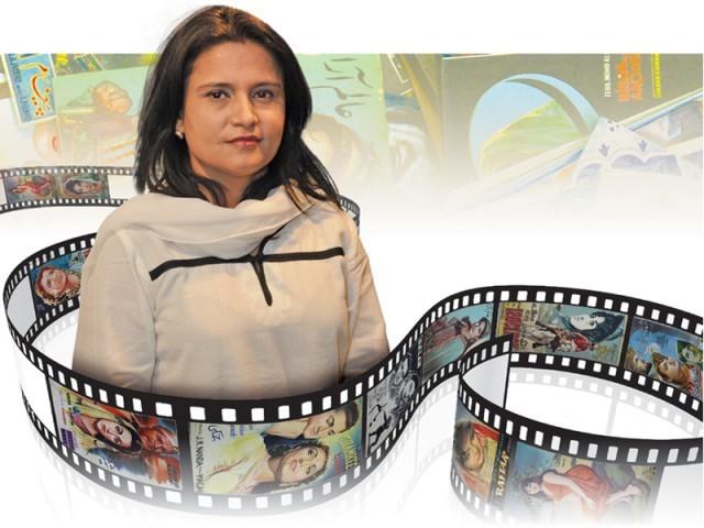 لولی وڈ کے ''آرکائیوز'' مرتب کرنے والی محقق، وجیہہ رضا رضوی کے جمع کردہ خزانے کی کہانی۔ فوٹو : فائل