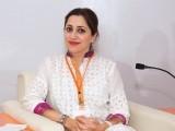 عائلہ ماجد پانچویں بین الاقوامی وویمن لیڈرز سمٹ کراچی میں موجود ہیں۔ فوٹو: نیو ورلڈ کانسیپٹس