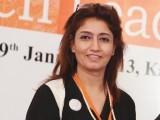 ہما بقائی پانچویں بین الاقوامی وویمن لیڈرز سمٹ کراچی میں موجود ہیں۔ فوٹو: نیو ورلڈ کانسیپٹس