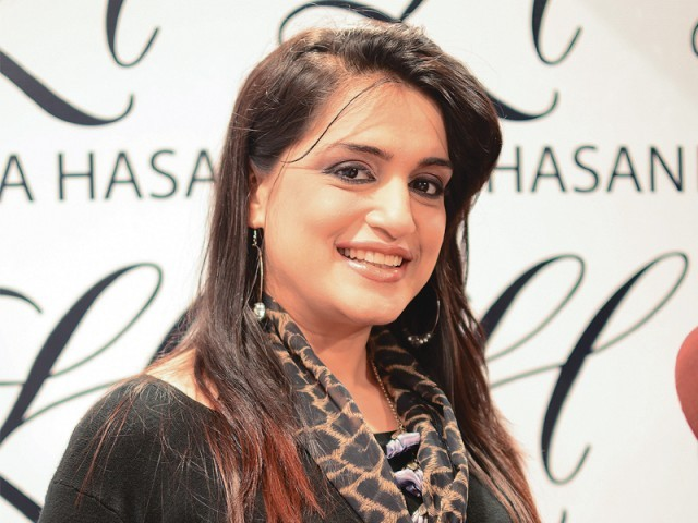 نازیہ ملک، کراچی میں ایل ایچ لائقہ حسن سیلون اینڈ اسپا کا افتتاح۔ فوٹو: انسٹیشیا پی آر
