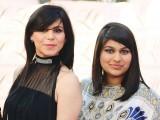 نورین اور عائقہ، کراچی میں ایل ایچ لائقہ حسن سیلون اینڈ اسپا کا افتتاح۔ فوٹو: انسٹیشیا پی آر