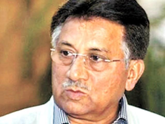 پرویز مشرف کو دھمکیاں مل رہی ہیں اس لئے انہیں حاضری سے استثنی دیا جائے، وکیل. فوٹو: فائل