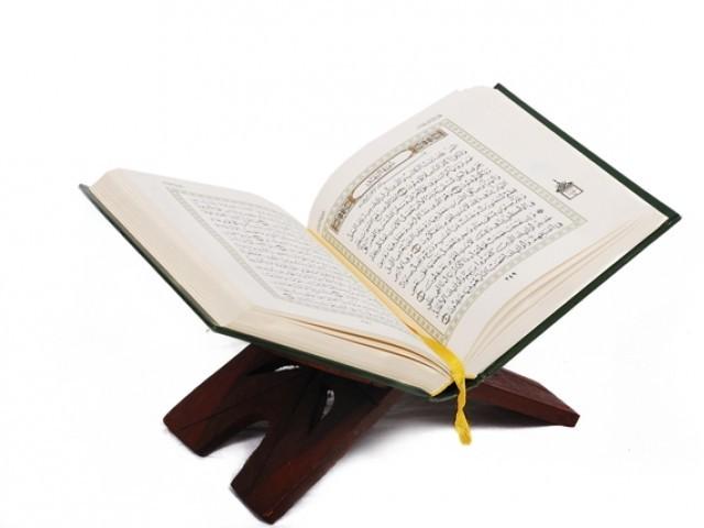 یہ سافٹ ویئر پورے عالم اسلام کے لیے باعث فخر ہونے کے ساتھ ساتھ قرآن کو بہ آسانی سمجھنے میں اہم ہوگا۔ فوٹو: فائل