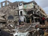 اسرائیل کی جانب سے 8 جولائی سے غزہ میں شروع کی جانے والی جارحیت میں اب تک 2050 کے قریب فلسطینی ہو چکے ہیں۔ فوٹو؛ فائل