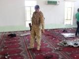 مسلح افراد کافی دیر تک مسجد میں اندھا دھند فائرنگ کرتے رہے، حکام۔ فوٹو اے ایف پی
