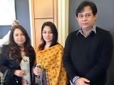 ایکسپریس میڈیا گروپ کے تعاون سے یہ سلسلہ جاری رہے گا، آرگنائزر ظفر خان اور ماہا خان  فوٹو : فائل