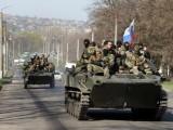 ہمارے علاقے میں داخل ہونیوالے مزید روسی فوجیوں کے ہمراہ 5 فوجی گاڑیاں اور ایک ٹرک بھی شامل ہے، یوکرینی فوج کا بیان۔ فوٹو: فائل