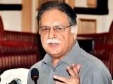 ،انتخابات میں فخرو بھائی کا نام چیف الیکشن کمشنر کے لیے عمران خان کی جانب سے ہی دیا گیا، پرویزرشید، فوٹو: فائل