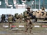 کابل میں غیر ملکی فوج پر ہونے والے حملے کی ذمہ داری طالبان نے قبول کرلی۔  فوٹو؛اے ایف پی