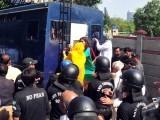 650 افراد کے خلاف دفعہ 144 کی خلاف ورزی کے تحت مقدمات درج کئے تھے. فوٹو: فائل