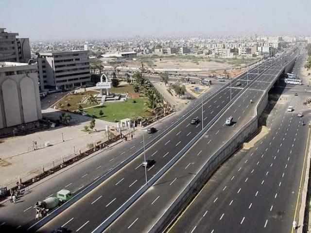 Karachi to Jinnah Bridge