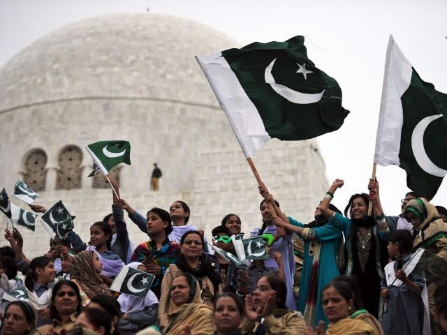 اب لوگوں یہ بھی کہنا شروع کردیا ہے کہ پاکستان کا قیام ماضی کی سب سے بڑی غلطی ہے، جسے ہماری نسلیں بھگت رہی ہیں۔ فوٹو اے ایف پی