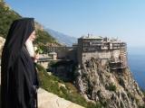 'ماؤنٹ ایتھوس'' نامی پہاڑ 800 عیسوی سے آرتھوڈوکس مسیحیوں کے لئے ایک معتبرعلاقہ سمجھا جاتا ہے. فوٹو: فائل