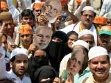 ہندو انتہا پسند جماعت بی جے پی نے ریاست مہاراشٹر کے تعلیمی اداروں میں مسلمانوں کا 5 فیصد کوٹہ ختم کردیا ہے، فوٹو:فائل