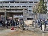 باغیوں نے پہلے انٹیلیجنس کی عمارت کو دھماکا خیز مواد نصب کرکے اسے اڑانے کی کوشش کی، حکام، فوٹو:فائل