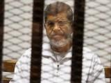 محمد مرسی کو صدر منتخب ہونے کے ایک سال بعد ہی ان کی حکومت کا تختہ الٹ دیا تھا۔   فوٹو فائل