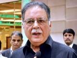 عمران کان کے جھوٹ کی سزا کراچی کے حلقے این اے246 میں کم ووٹ کی صورت میں  ملی، پرویز رشید  فوٹو: فائل