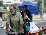 گرمی کی شدت سے بچنے کے لئے لوگ سر کو ڈھانپ کر باہر نکلیں، بھارتی محکمہ موسمیات کی ہدایت فوٹو:فائل