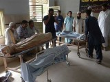 جناح اسپتال میں 7،کورنگی اسپتال میں 3،عباسی شہید میں 2 ، سول اور سندھ گورنمنٹ نیو کراچی میں ایک ایک شخص چل بسا۔ فوٹو: اے ایف پی/فائل