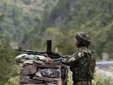 بھارتی فوج کی جانب  سے بلا اشتعال فائرنگ کا سلسلہ افطار سے کچھ دیر قبل  شروع ہوا فوٹو:فائل