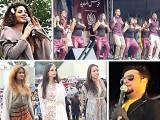 فیسٹیول  میں  جیولری ، ملبوسات ، پاکستانی فوڈ  اور مہندی سمیت مختلف قسم کے اسٹالز لگائے گئے تھے ۔ فوٹو : فائل