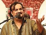 پاکستان میں بہت عزت ملی ہے لہذا بھارت جاکر کام کرنا بھی نہیں چاہتا،امجد صابری۔  فوٹو : فائل