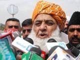 تحریک انصاف کو کس بنیاد پر رعایت دی جارہی ہے، مولانا فضل الرحمان فوٹو: فائل