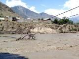 ماہرینِ موسمیات کے مطابق پاکستان کے شمالی علاقہ جات میں گلیشیئر پگھلنے کی وجہ سے مستقبل میں مزید سیلاب آسکتے ہیں۔ فوٹو:فائل