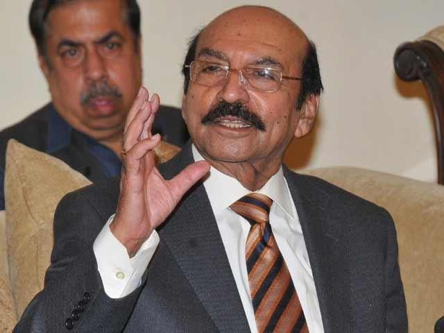 ڈاکٹر عاصم کا عہدہ وزیر کے برابر ہے ان کی گرفتاری سے پہلے مجھے بتانا چاہئے تھا، سید قائم علی شاہ، فوٹو:فائل