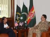 دونوں شخصیات نے خطے اورافغانستان کی سیکیورٹی صورتحال پر تبادلہ خیال کیا،ترجمان پاک فوج۔ فوٹو: آئی ایس پی آر