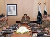آئی ایس پی آر کے مطابق اجلاس میں سیکیورٹی کی بیرونی صورت حال کا بھی جامع جائزہ لیا گیا، فوٹو: آئی ایس پی آر