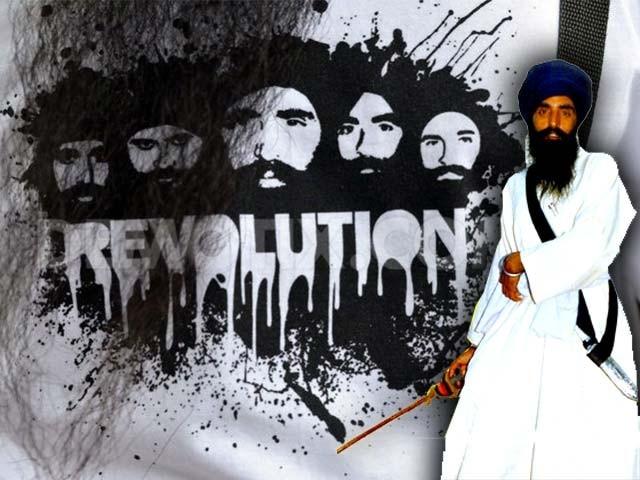 خالصتان تحریک سکھ قوم کی بھارتی پنجاب کو، بھارت سے الگ کر کے ایک آزاد سکھ ملک بنانے کی تحریک ہے۔:فوٹو : فائل