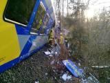 ابتدائی اطلاعات کے مطابق دونوں ٹرینیں غلطی سے ایک ہی ٹریک پر آگئی تھیں،فوٹو:ڈی پی اے