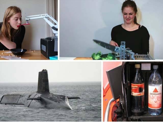 روبوٹس پر کام کرنے والی  سوئس خاتون سائمن گائرڈزے نے ان ایجادات کو بنانے کا تصور پیش کیا ہے۔ فوٹو : فائل