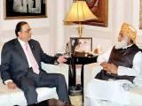 مولانا فضل الرحمان ، آصف زرداری اور وزیر اعظم نواز شریف لندن میں ہی موجود ہیں۔. فوٹو : فائل
