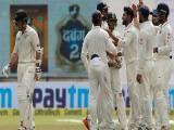 بھارت کو 3 ٹیسٹ میچوں کی سیریز میں ایک صفر کی برتری حاصل ہوگئی ہے،فوٹو:کرک انفو