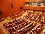 بل کی حمایت میں 32 جبکہ مخالفت میں 19 ووٹ ملے جس کے بعد چیئرمین سینیٹ نے بل کو متعلقہ قائمہ کمیٹی کو بھجوا دیا۔ فوٹو : فائل