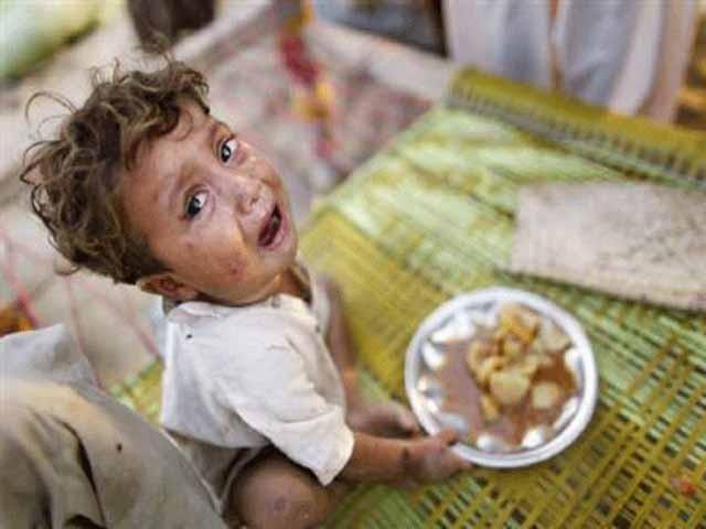 پاکستان اور بھارت میں بڑھتی ہوئی بھوک آج دونوں ممالک کے صاحبانِ اقتدار کے لیے ایسا چیلنج ہے جس کا مقابلہ ایٹم بم سے بھی نہیں کیا جاسکتا۔