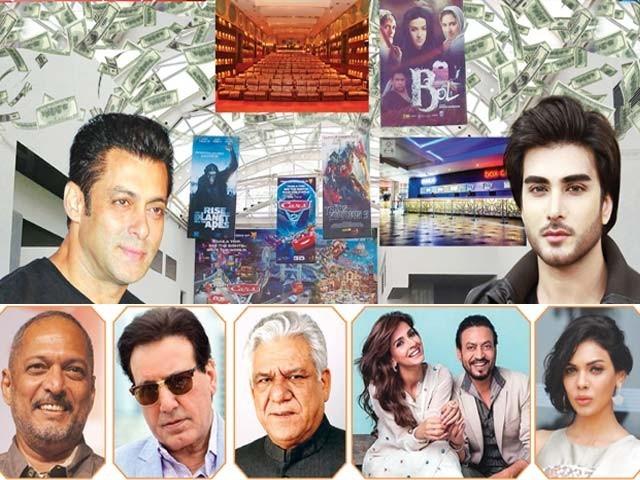 دونوں ملکوں کے حلقے پاکستان میں بھارتی فلموں کی نمائش کو معمول پرلانے کے لیے کوشاں ۔  فوٹو : فائل