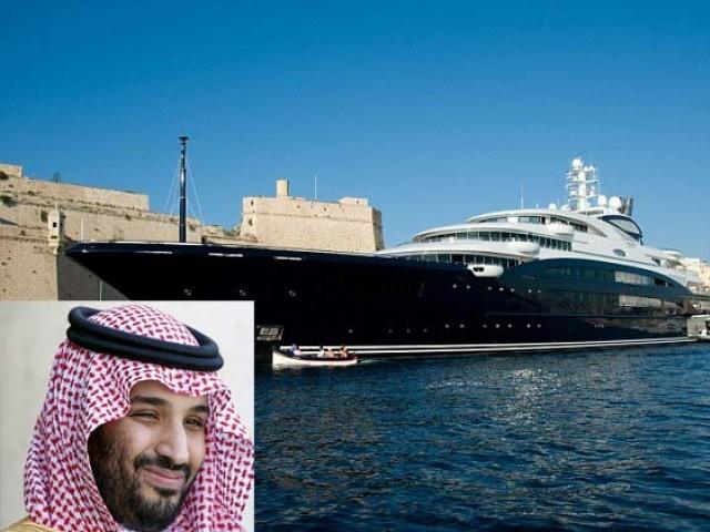 جنوبی فرانس میں روسی ارب پتی کی کشتی شہزادہ محمد بن سلمان کو پسند آگئی جس کی ادائیگی اسی روز کردی گئی۔