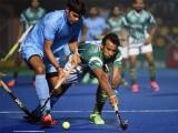 میچ میں پاکستان کو 1-2 کی برتری حاصل تھی تاہم  روپندر اور رمن دیپ نے گول کرکے بھارت کی برتری 2-3 کردی: فوٹو : ٹویٹر