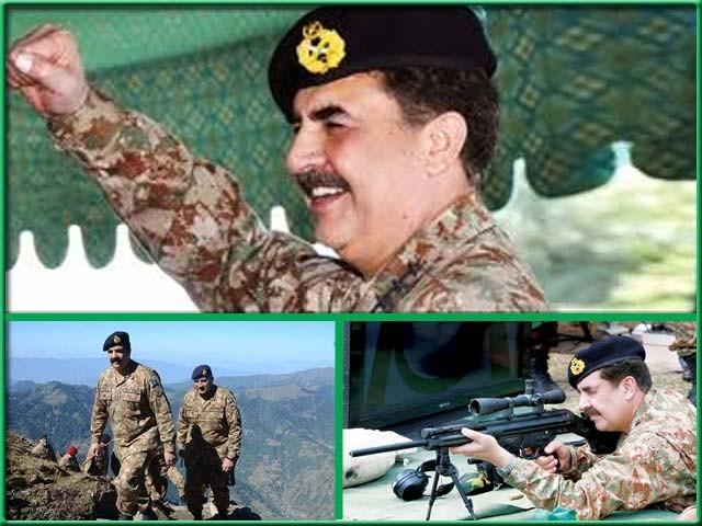 جنرل راحیل شریف اپنے پیچھے بلند معیار اور اعلیٰ روایات چھوڑ کر جا رہے ہیں: فوٹو : فائل