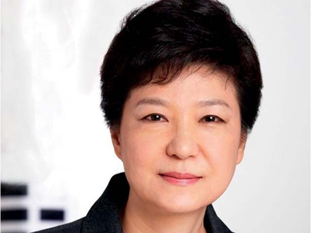 صدر پارک گیون ہائی اس سے قبل منصب چھوڑنے کے مطالبات کو رد کرتی رہی ہیں۔ فوٹو : فائل