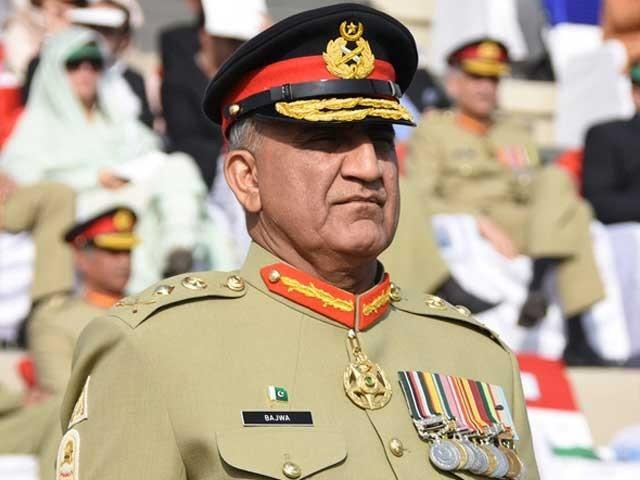 آرمی چیف جنرل قمر باجوہ نے پشاور اور شمالی وزیرستان کا دورہ کیا، آئی ایس پی آر، فوٹو؛ اے ایف پی