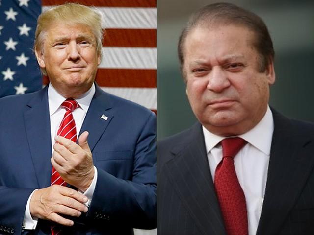 وزیراعظم نواز شریف نے ڈونلڈ ٹرمپ کو امریکا کا صدر منتخب ہونے پر مبارکباد دی۔ فوٹو: فائل