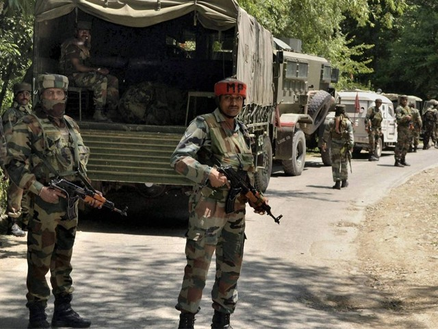 مقبوضہ وادی میں بھاری تعداد میں قابض فوجیوں کی تعیناتی اقوام متحدہ کی قراردادوں پر عملدرآمد میں رکاوٹ ہے، نفیس ذکریا. فوٹو:فائل