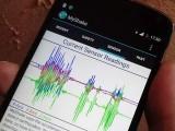 مائی شیک ایپ سے زلزلوں کو شناخت کرسکتی ہے۔ فوٹو: بشکریہ یونیورسٹی آف کیلیفورنیا برکلے