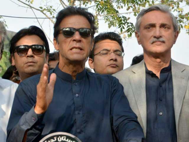 کرپشن معاشرے کا کینسر ہے جو ملک کوتباہ کررہی ہے، عمران خان۔ فوٹو : فائل